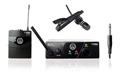 AKG WMS 40 Mini Presenter Juego completo 1, incluye Lavalier de ...