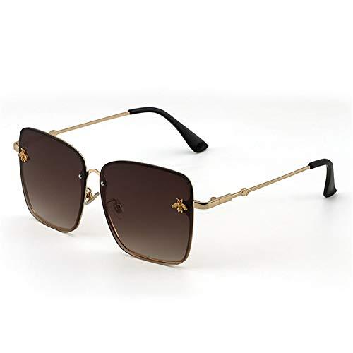 gradiente de cuadrados señoras de gafas decorativa tiro sol Abeja sol B NIFG calle gafas wtPExq