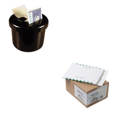 KITLEE40100QUAS3715 - Value Kit - Quality Park Ship-Lite Redi-Flap Expansion Mailer (QUAS3715) and Lee Ultimate Stamp Dispenser (LEE40100)