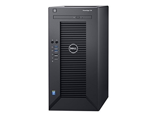 2019 Newest Flagship Dell PowerEdge T30 Business Mini Tower Server System - Intel Quad-Core Xeon E3-1225 v5 8M Cache, DVD+/-RW, HDMI, No Operating System (Black) - Upgrade to 32G RAM 1TB SSD