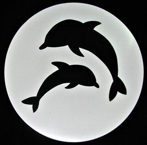 universal templates ut 20 jaiden dolphin circle decorative concrete