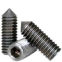 8 Grub//Blind//Allen//Headless Screw Set Screws Coarse Thread Alloy Steel Flat Point 8-32 x 1//4 Hex Socket, Quantity: 100 Length: 1//4 inch
