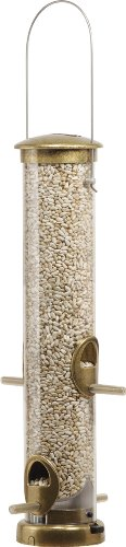 Aspects 395 Quick-Clean Seed Tube Feeder, Medium - Antique Brass