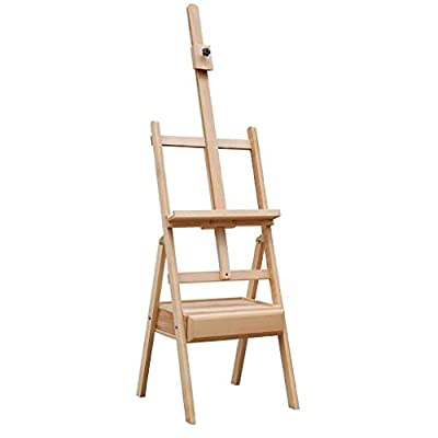 YAGEER Easel Stand Art Easel with Drawers Art Sketch Adult Picture Frame Drawing Frame Folding Multi-Purpose Painting Easels Stand HUAJI