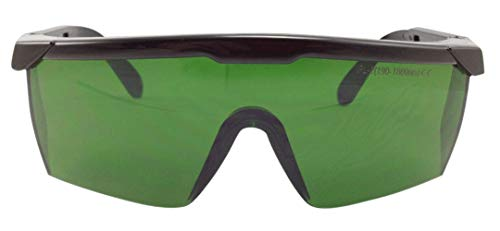 Near Infrared and Blue Light Protection Glasses 190-1800 nm Coverage