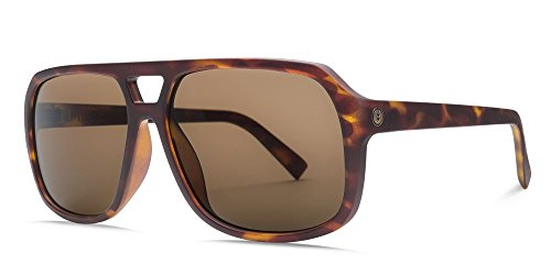 Electric Dude Sunglasses Matte Tortoise with Ohm Bronze Polarized - Sunglasses Electric Ohm