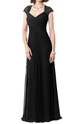 Mariée Ange 2015 Robe De Soirée De Réception De Mariage Plissé Élégant Robes De Soirée Noire