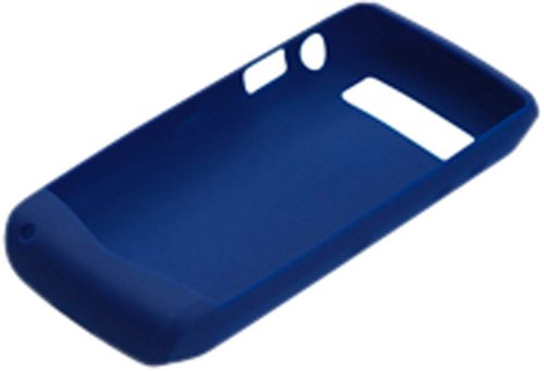 GENUINE BLACKBERRY SILICONE SKIN CASE COVER FOR BLACKBERRY 9100 PEARL 3G - BLUE