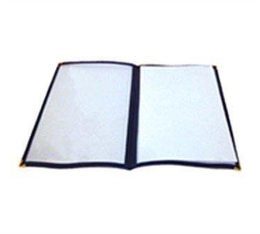 Winco-Double-Fold-Menu-Cover-12-Inch-x-95-Inch-Blue