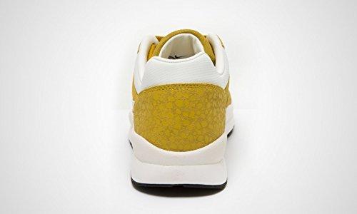 Nike Air Safari in pelle scuro Citron scamosciata Vela Beige Trainer, Taglia 7