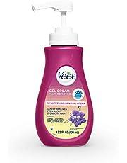 Veet Silky Fresh, Hair Removal Cream, Body & Legs, Sensitive Skin 400 mL (Packaging may vary)