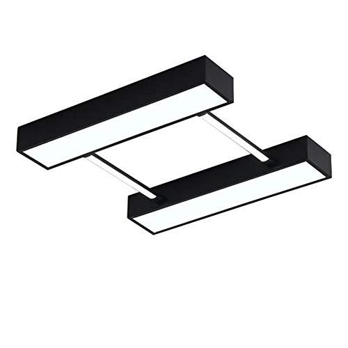 noir 406cm OOFAY lumière Plafonnier LED, Plafonnier en Acrylique Abat-Jour (Lumière Blanche),noir,40  6Cm