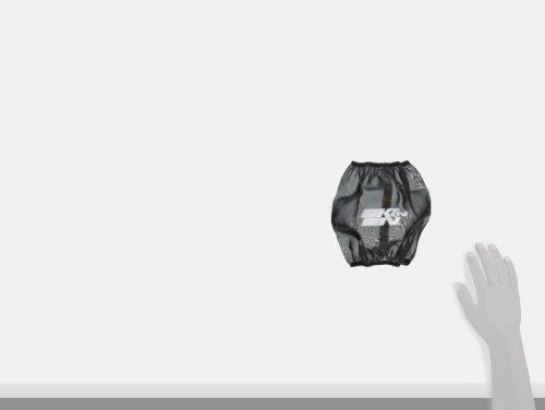 For Your K/&N YA-7008 Filter K/&N YA-7008DK Black Drycharger Filter Wrap