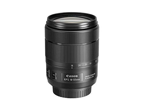 Canon EF-S 18-135mm f/3.5-5.6 Image Stabilization USM Lens (Black) (Certified Refurbished)