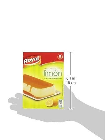 Royal - Preparado de Pastel Sabor Limón con Caramelo Liquido, 103 g: Amazon.es: Amazon Pantry