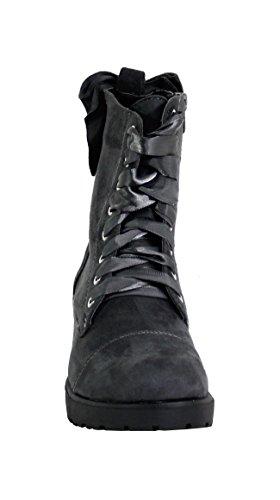 Boots Shoes Di Fashion Da Donna Grigio wcExPaRqZx