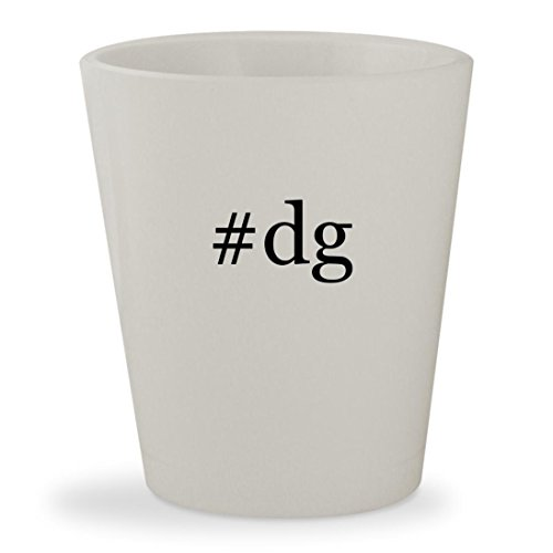 #dg - White Hashtag Ceramic 1.5oz Shot - Dgs Sunglasses