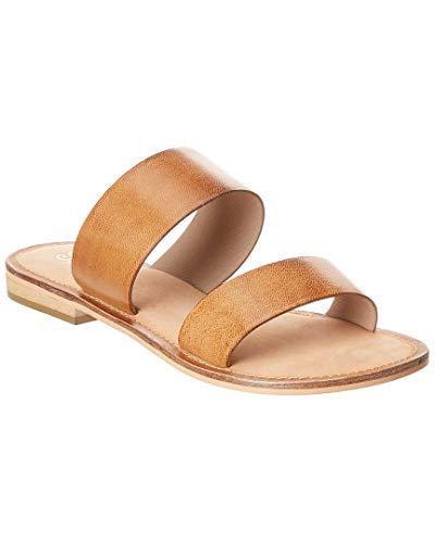 Beachcomber Sandal - Seychelles Beachcomber Leather Sandal, 6, Brown