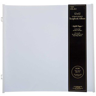 "12"" x 12"" Strap Hinge Refill Page Value Pack 31JYvsMjeAL"