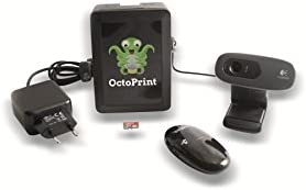Pi3g octoprint Kit, incluye cámara web HD Logitech C270 octopi Kit ...
