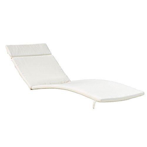 Denise Austin Home Albany Beige Lounge Cushion