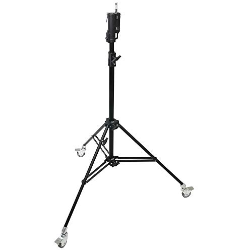 Kupo Master Combo Stand with Casters - Black (KS200811)