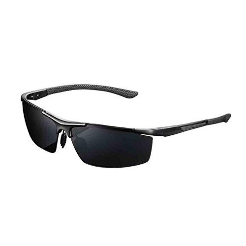 Y nbsp;Lentes Alta Simple Explosiones Alta Magnesio Hombres HONEY De De De Del Aluminio Cómodo gray Gafas Para Black Definición Prueba Y Polarizadas Marco Sol Calidad De Gafas A De Conducción xqHqFA76