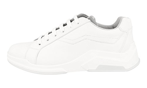 outlet 100% guaranteed low cost cheap price Prada Men's 4E2800 BSY F0009 Leather Trainers/Sneaker cheap sale tumblr q6j9rTVZ