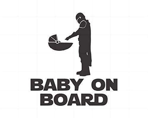 BABY ON BOARD - BABY YODA - STARWARS