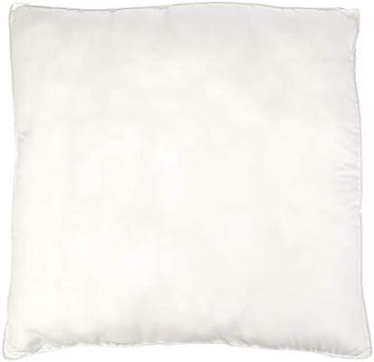 AmazonBasics - Almohadas de relleno sintético con funda de microfibra, 65 x 65 cm, 2 unidades: Amazon.es: Hogar