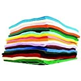 Family Pack of Crafkit? Acrylic Felt - 30 A4 Sheets in 15 Assorted Colours