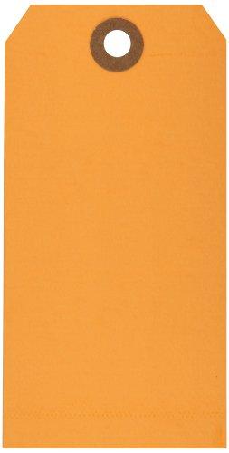 Orange Shipping Tags - Aviditi 13 Point Cardstock Shipping Tag, 4-3/4