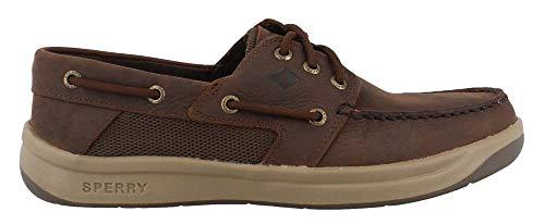 Boat Eye Shoe 3 - SPERRY Men's, Convoy 3 Eye Boat Shoes Chocolate 11 W