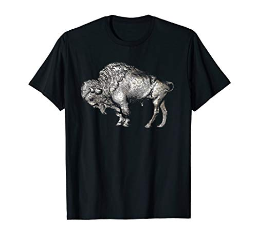 Buffalo Nickel Coin Collecting T Shirt
