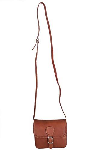 Rouge Braia Cognac Sac bandoulière Moontang Femme coloré Taille Xqwc64