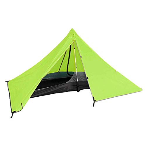Survivalist Ultralight Pyramid Tents Camping Tent Solo Tent Trekking Pole Tents Waterproof Backpacking Tent