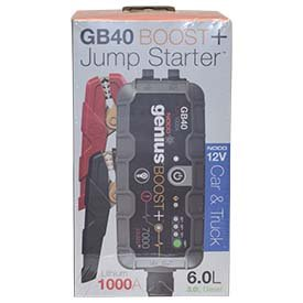 NOCO Genius Boost Plus GB40 1000 Amp 12V UltraSafe Lithium Jump Starter ()