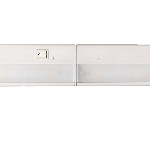 WAC Lighting BA-LED6-WT LEDme 18-Inch Under Cabinet, White Finish by WAC Lighting