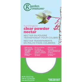 Garden Treasures Hummingbird Clear Powder Nectar (Garden Treasures Hummingbird)