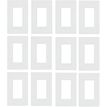 Lutron Cw 3 Wh 3 Gang Claro Wall Plate White Witch