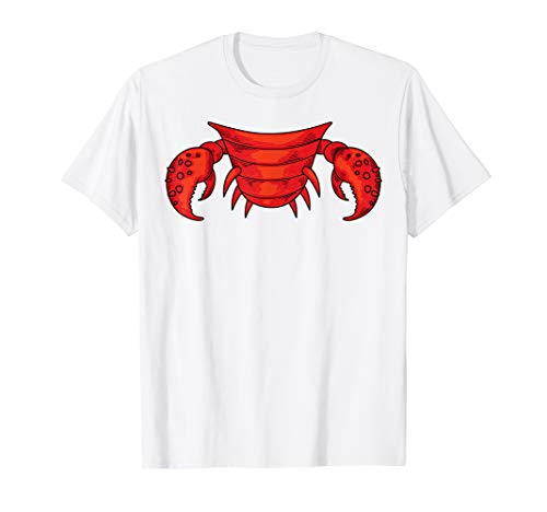 Cool Crab Easy Halloween Costume Seafood Shirt Lazy Gift]()