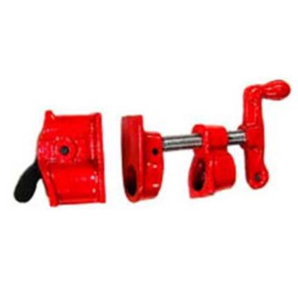 6 Pack ¾ Threaded Pipe Professional Grade Gluing Clamps