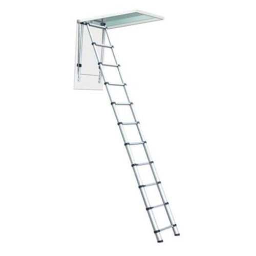 Telesteps 1000L OSHA Compliant 7-10 ft Ceiling Heights Telescoping Attic or Loft Ladder ()