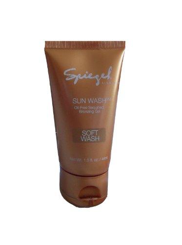 Price comparison product image Spiegel SUN WASH Full Size Bronzing Gel Sequined Shimmer Deep Wash,  1.5 fl oz / 44 ml