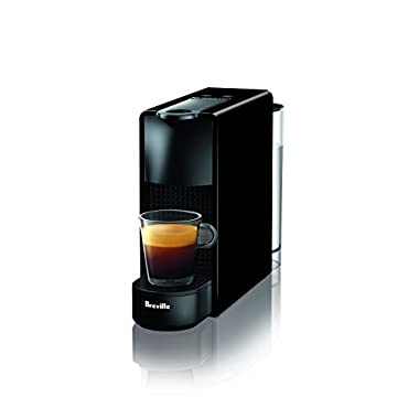Nespresso Essenza Mini Espresso Machine by Breville, Piano Black