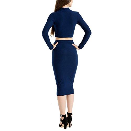 Robe De Dt D't Bas Robe Blue Sexy Irrgulire Ongue Basique Soleil Femme Deep wWSZ8B6qx