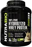 NutraBio 100% Pure Hydrolyzed Whey Protein (5 Pounds Alpine Vanilla) – Ultra Fast Absorbing Protein Source For Sale