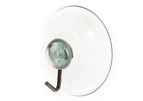 SUCTION SUCKER WINDOW HOOKS CLEAR WIRE HOOK 45MM ( pack of 1000 )