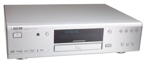 Philips Digital Receivers - Philips DVDR985 Progressive-Scan DVD Recorder and Player