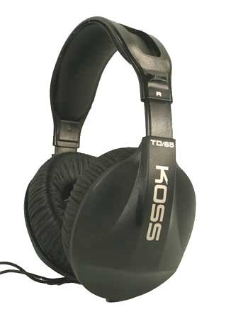 (Koss Td/65 Headphones Anisotropic Ferrite Magnet and Oxygen Copper (Discontinued by Manufacturer))